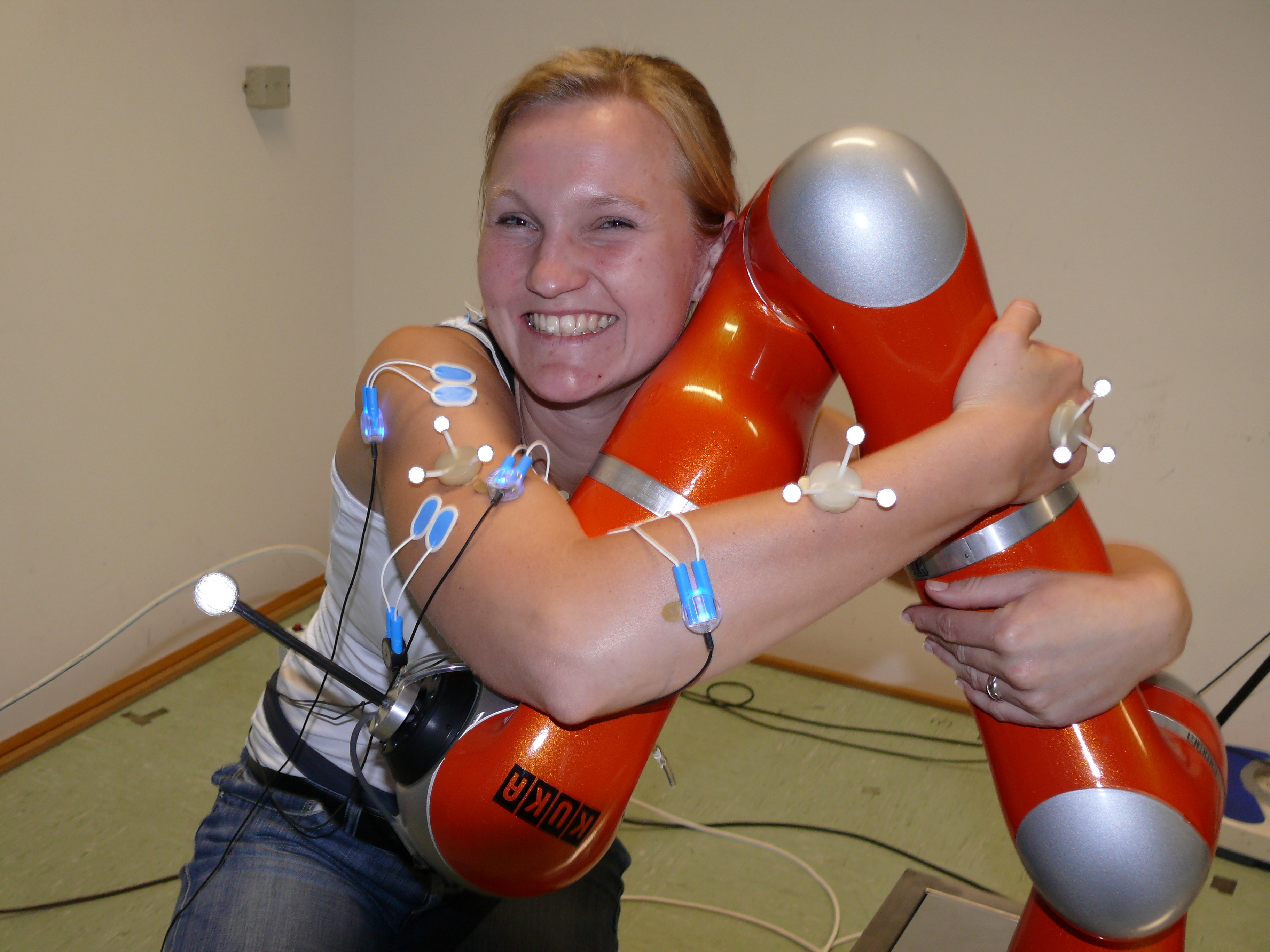 Robot assisted Rehabilitation